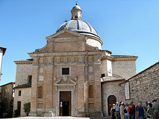 Chiesa Nuova (Assisi) church building in Assisi, Italy