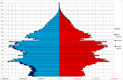 China Sex By Age 2010 census.png