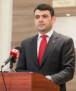 Chiril Gaburici Moldovan Prime Minister