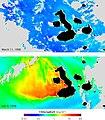 Chlorophyll concentration off the Galapagos archipelago during El Niño and La Niña.jpg