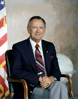 Christopher C. Kraft Jr. - Chris Kraft as director of Johnson Space Center in 1979