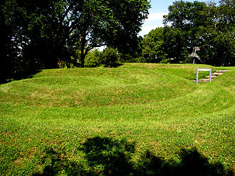 Serpent Mound - The spiral tail at the end of the Serpent Mound