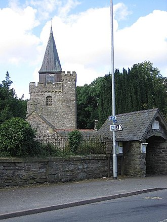 Jacob Youde William Lloyd - Llangurig church, restored in 1877–8 with the support of Jacob Lloyd