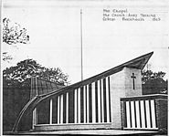 Church Army Chapel Drawing 1965