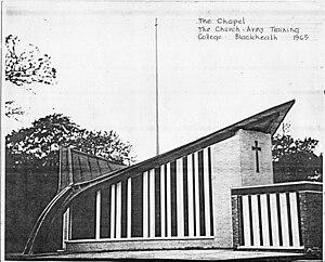 Church Army Chapel, Blackheath - Drawing by E.T. Spashett