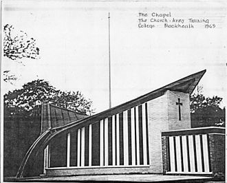 Church Army Chapel, Blackheath - Drawing by E.T. Spashett