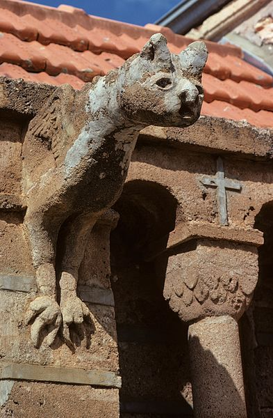 Church gargoyle in Mullewa, Western Australia