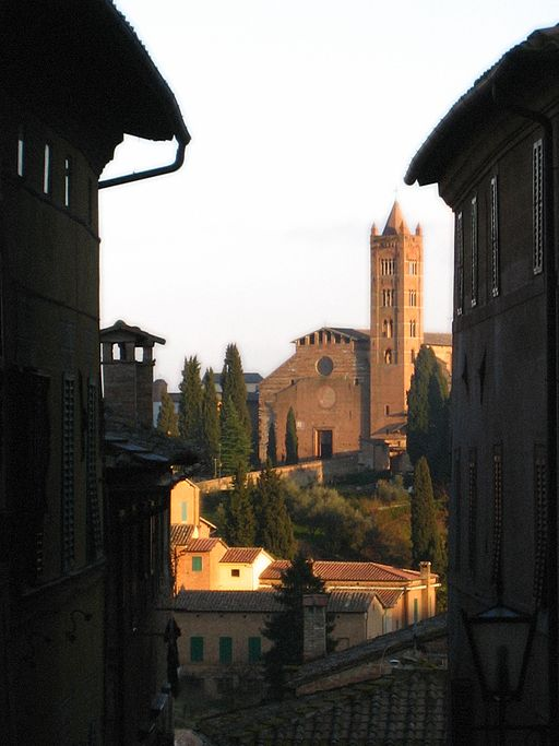 Church in Siena