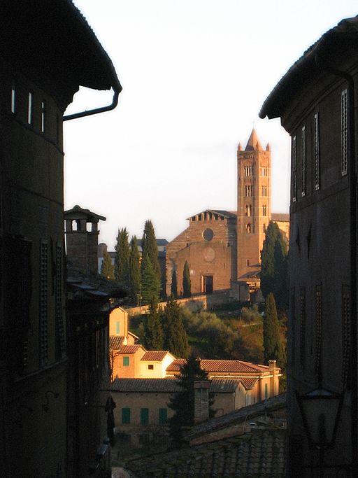 Church in Siena