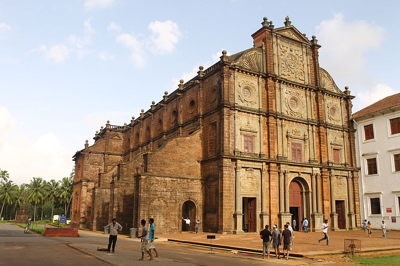 File:Church of St. Francis Xavier, old goa.JPG