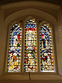 Church of St Mary Little Easton Essex England stained glass window.jpg