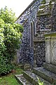 Church of St Mary the Virgin, Woodnesborough, Kent - north aisle northwest buttress.jpg