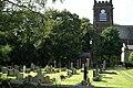 Churchyard, St Andrew's, Maghull - geograph.org.uk - 1453697.jpg