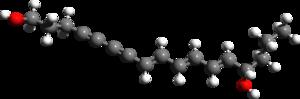 Cicutoxin - Image: Cicutoxin 3d structure