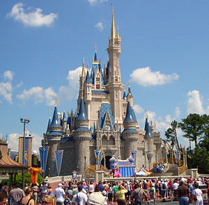 Walt Disney World - Cinderella Castle, the icon of the Magic Kingdom