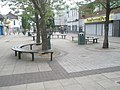 Circular seats in Waterlooville Shopping Precinct - geograph.org.uk - 1368814.jpg