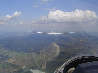 Schempp-Hirth Cirrus - Cirrus in flight