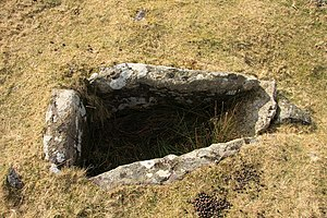 Cist on Harford Moor - geograph.org.uk - 1183916.jpg