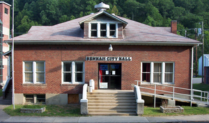 Benham, Kentucky - Benham City Hall