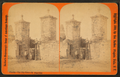 City gates. St. Augustine, Florida, by Barker, George, 1844-1894.png