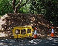 City of London Cemetery woodchip mound 2.jpg