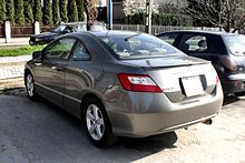 Honda Civic Coupe (US). The 8th Generation ...