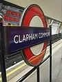 Clapham Common stn roundel.JPG