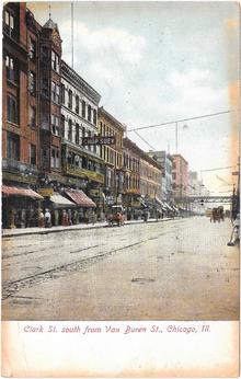 e5fa96cfc Clark Street (Chicago) - Wikipedia