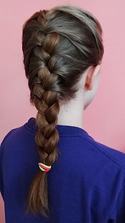 French braid - Wikipedia, the free encyclopedia