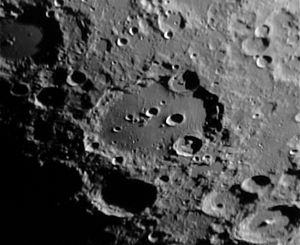Clavius (crater) - Earth-based view of Clavius