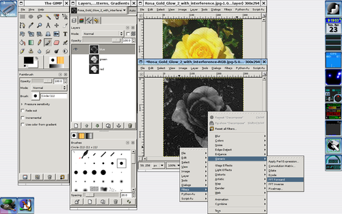 GIMP/Remove Coherent Noise - Wikibooks, open books for an