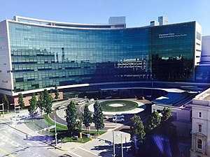 Cleveland Clinic - Image: Cleveland Clinic Miller Family Pavilion