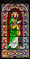 Clonmel Irishtown St. Mary's Church of the Assumption Nave West Wall Third Bay Window Saint Matthew 2012 09 06.jpg