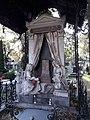 Cmentarz Prawosławny (przykładowy nagrobek), 1834 - Zespół Reduty Wolskiej, ul. Wolska 138, nr rej. A-54 z 20.08.2003.jpg