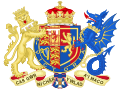 Coat of Arms of Sophie, Countess of Wessex.svg