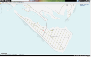 Cobb Island (Maryland) - Image: Cobb Island, Maryland, as viewed within the USGS map viewer 201110030252