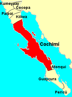 aboriginal inhabitants of the central part of the Baja California peninsula, from El Rosario in the north to San Javier in the south