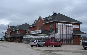Cochrane, Ontario - The Cochrane railway station.