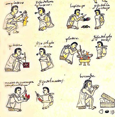 Tlacuilo - Wikipedia, la enciclopedia libre