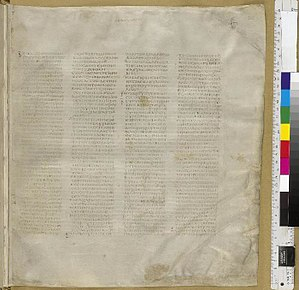 Matthew 2 - Codex Sinaiticus (AD 330-360), Matthew 1:1-2:5