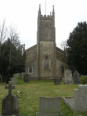 Coleford, Somerset - Image: Colefordchurch