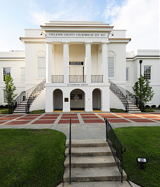 Colleton County, South Carolina - Image: Colleton County Courthouse