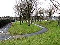 Colne, Footpaths and cycleway - geograph.org.uk - 1701604.jpg