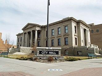 Colorado Springs City Hall - Image: Colorado Springs City Hall by David Shankbone