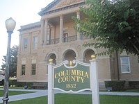 Columbia County, AR, Courthouse, Magnolia, IMG 2309