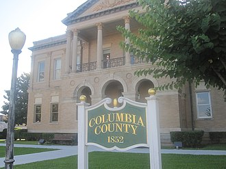 Columbia County, Arkansas - Image: Columbia County, AR, Courthouse, Magnolia, IMG 2309