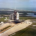 Columbia rolls out to LC-39A in preparation for STS-2.jpg