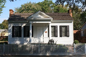 Pemberton House (Columbus, Georgia) - Image: Columbus Historic District The Pemberton House