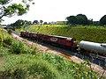 Comboios em cruzamento no pátio da Estação Ferroviária de Itu - Variante Boa Vista-Guaianã km 201 - panoramio (2).jpg