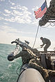 Commander, Task Group 56.1 Mine Countermeasure Platoon 601 launches and recovers Mark 18 Mod 2 Kingfish Unmanned Underwater Vehicles 141201-N-MF909-162.jpg